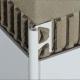 Schluter Rondec AC 100 BW 3m Brilliant Wit -0