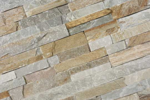 Stone Panels Golden Quarzite 60x15-0