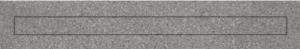 Mosa Shower Drain 4103SV Basalt grey 15x90 30mm-0