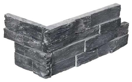 Stone Panels Black Slate Hoekstuk-0